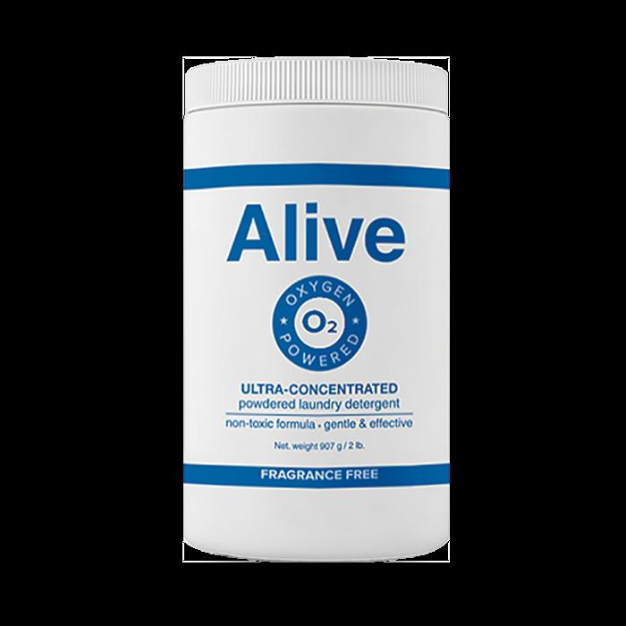 Alive Концентрированный порошок для стирки белых и цветных тканей / Alive concentrated laundry detergent for whites and colors