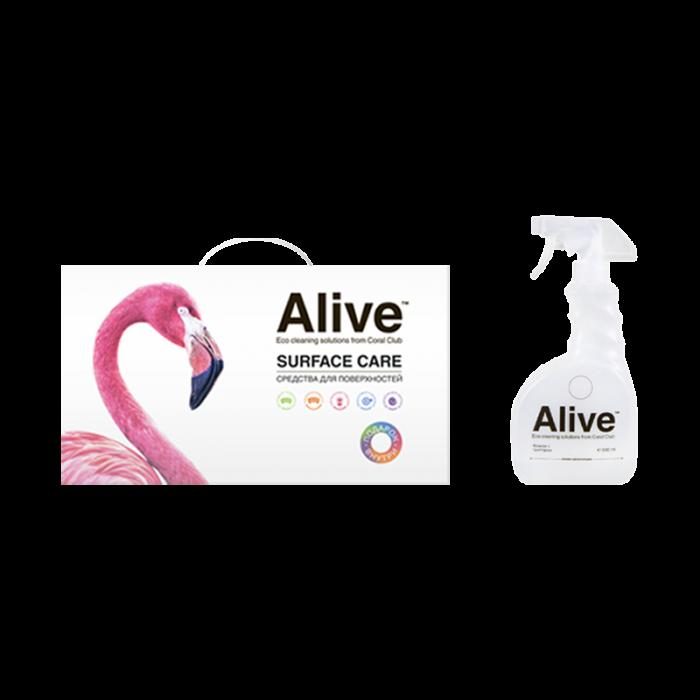 Alive Коллекция средств для поверхностей / Alive Assorted household cleaning products