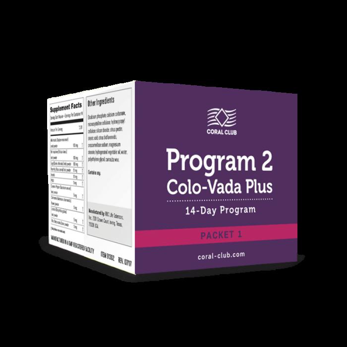 Программа 2 Коло-Вада Плюс (комплект 1) / Program 2 Colo-Vada Plus (packet 1)