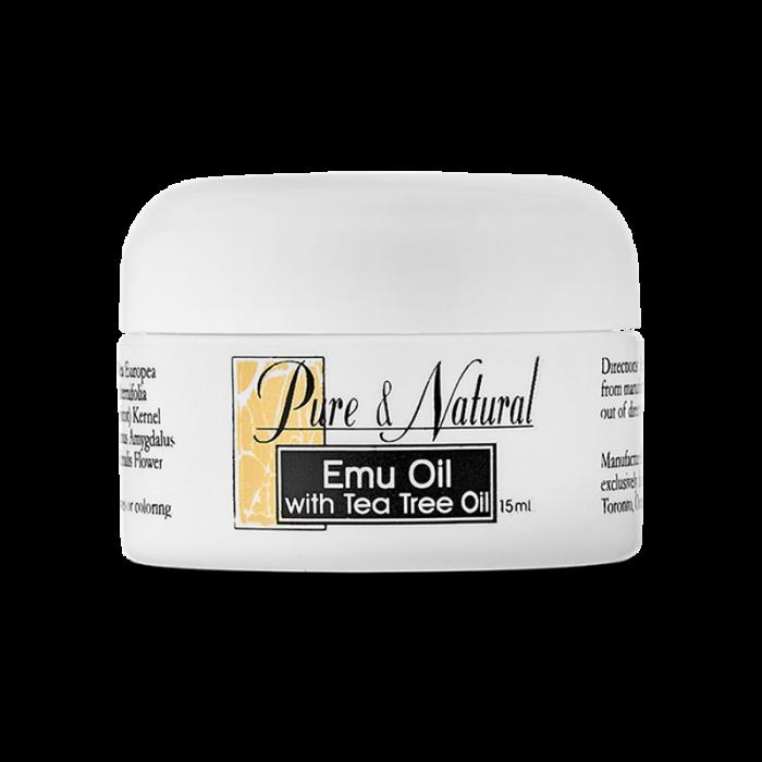 """Бальзам для кожи лица и тела """"Жир эму с маслом чайного дерева"""" / Emu oil with Tea Tree oil"""