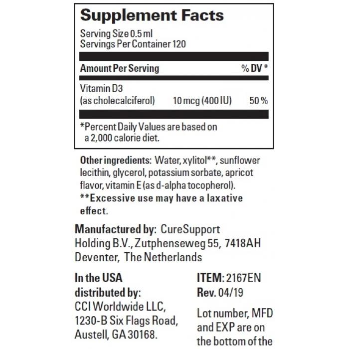 Липосомальный Витамин D3 / Liposomal Vitamin D3