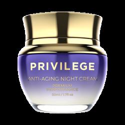 Privilege Крем для лица и шеи омолаживающий ночной / Privilege Anti-Aging Night Cream