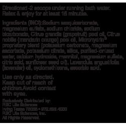 Соль для ванн с микрогидрином / Bath Salts with Мicrohydrin